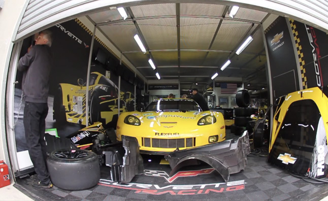 Corvette Racing Prepares for the 24 Hours of Le Mans – Video
