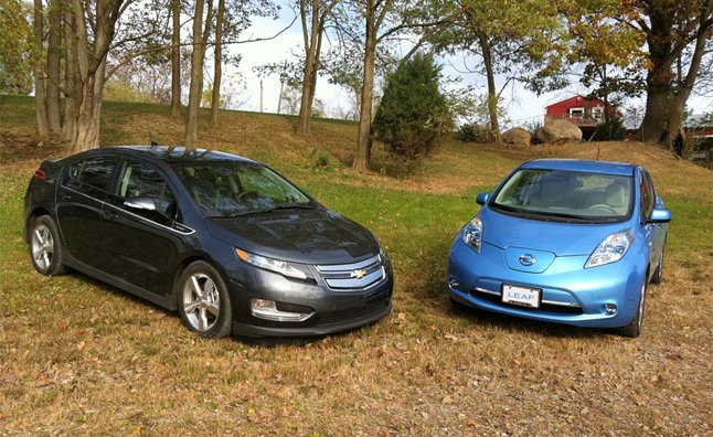 Nissan Leaf, Chevy Volt One-Year Resale Values Top 90 Percent