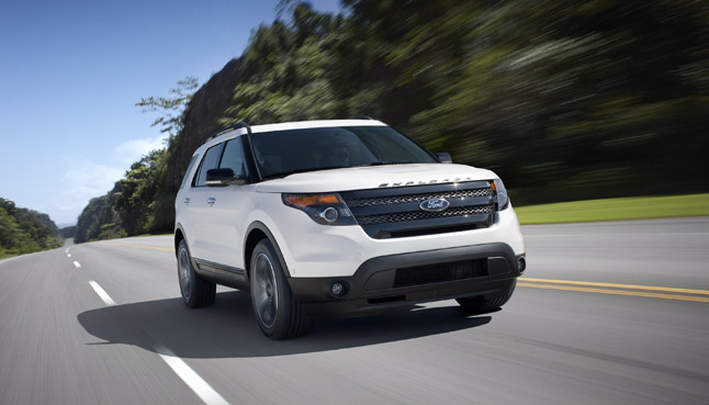 2013 Ford Explorer Sport Costs $41,545: Most Expensive Model
