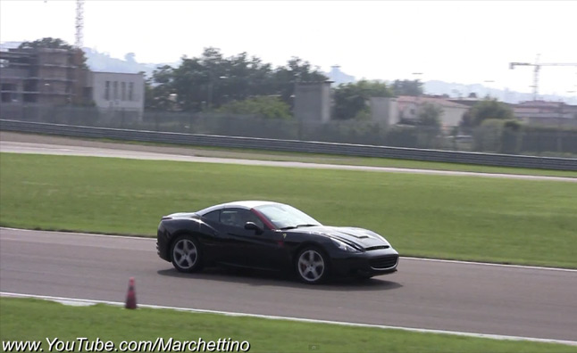 Ferrari California Turbo Spied Testing – Video