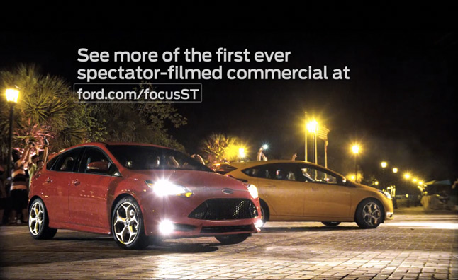 2013 Ford Focus ST Commercial Shot by Fans Revealed