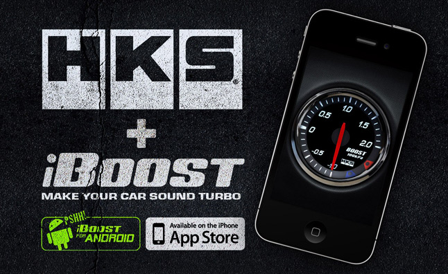 iBoost App Features HKS Blow Off Valve Noises – Videos