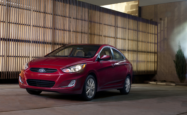 2013 Hyundai Accent Standard Features Improved