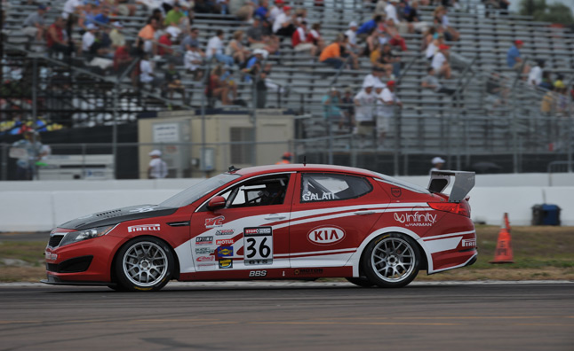Kia Racing Optima Claims its First Victory in World Challenge