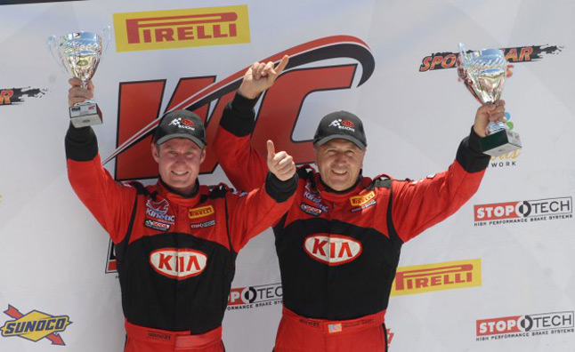 Kia Racing Notches Weekend Sweep of Pirelli World Challenge GTS Class