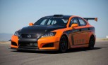 Lexus IS-F CCS-R Pikes Peak Shakedown Video