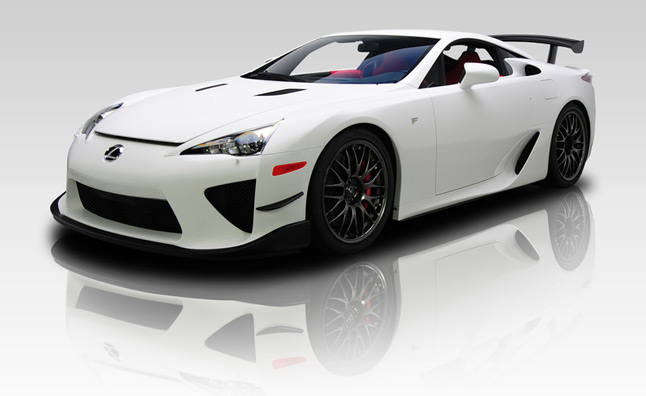 Lexus LFA Nurburgring Edition For Sale with Red Interior