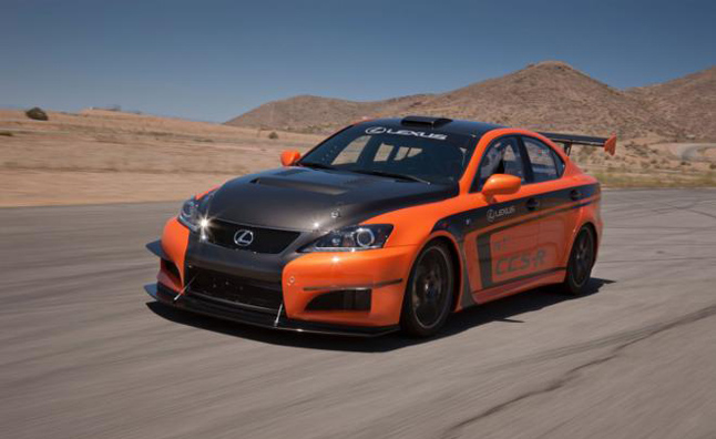 Lexus IS F CCS-R with 416 HP Ready for Pike's Peak
