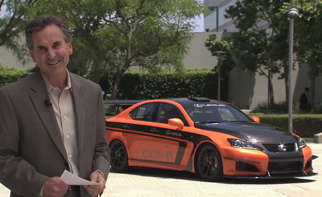 Lexus IS F CCS-R Previewed in Explanation Video