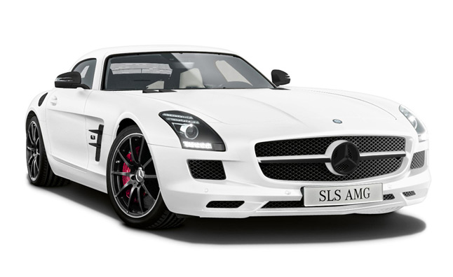 Matte Mercedes-Benz SLS AMG Headed to Japan