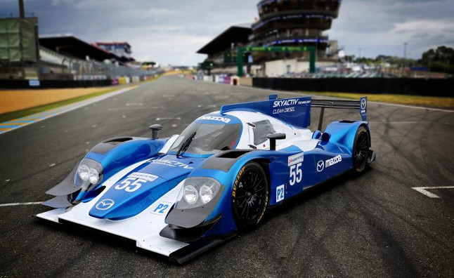 Mazda, Patrick Dempsey Team up to Campaign Skyactiv-D Clean Diesel at 24 Hours of Le Mans