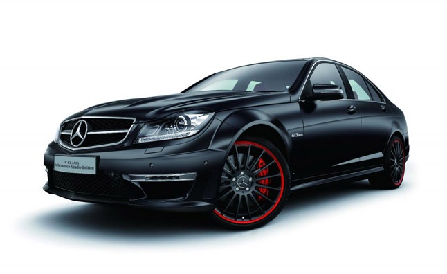 Mercedes-Benz C63 AMG Japanese Special Edition Debuts
