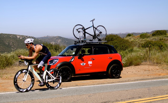 MINI Offers Chance to Train With Paralympic Athlete