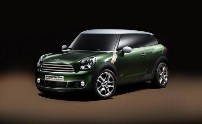 MINI Countryman Coupe Should Be Available in 2013