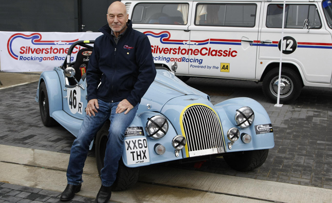Star Trek Star Patrick Stewart Will Race in the Silverstone Classic
