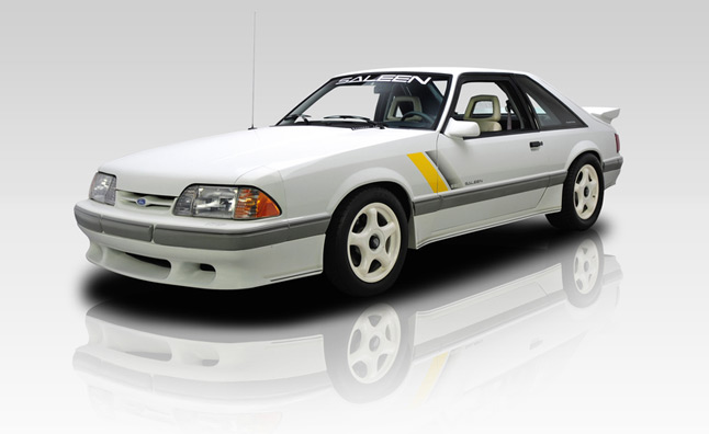 1989 Ford Saleen Mustang SSC With Just 7,918 Miles for $36,900
