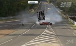 Watch Toyota's Hybrid Race Car Catch Air in Wild Crash at 24 Hours of Le Mans – Video