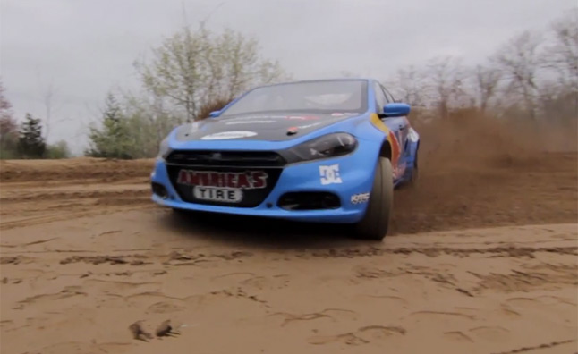 Watch Travis Pastrana Put the Dodge Dart Rally Car to the Test – Video