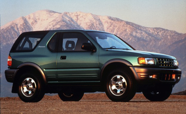 Isuzu Amigo, Rodeo Sport Recalled for Corroded Rear Suspension