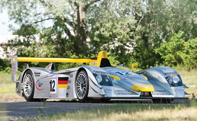 Audi R8 Le Mans Prototype Race Car Heading to RM Auctions