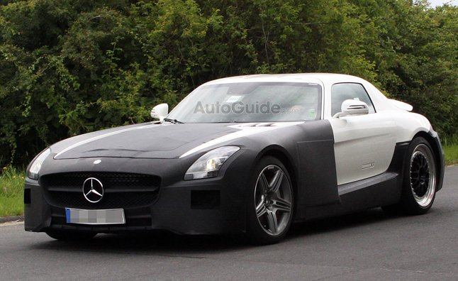 2013 Mercedes SLS AMG Black Series Spy Photos