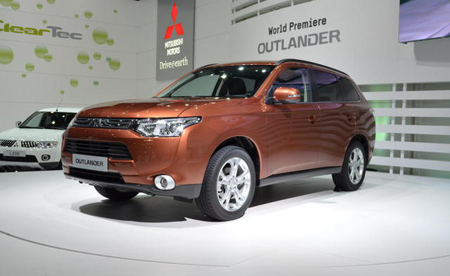 Mitsubishi Hybrid Lineup Possible for US