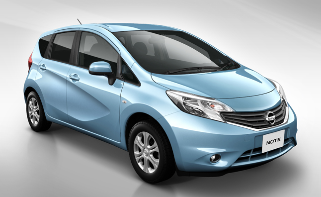 New Nissan Versa Hatchback Previewed in Note