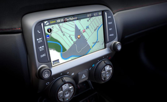 2013 Chevrolet Camaro Gets Touchscreen Navigation, Minor Changes