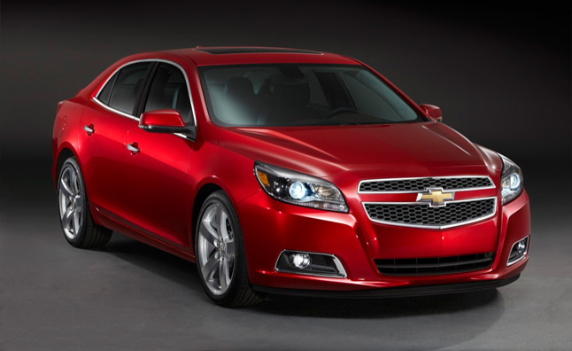2013 Chevrolet Malibu 2.5L Estimated Fuel Figures at 22/34 MPG