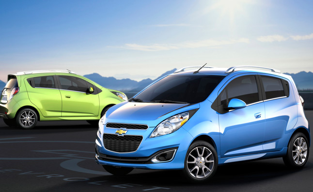 2013 Chevrolet Spark to Drop CD Player