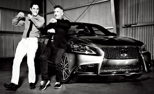 2013 Lexus LS 460 Models Officially Unveiled in San Francisco