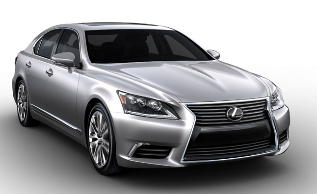 2013 Lexus LS460 Full Gallery Leaks Ahead of Official Debut