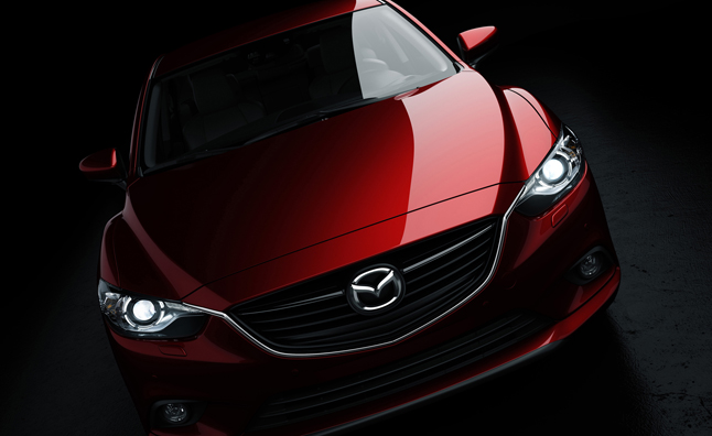 2014 Mazda6 Full Frontal Photo Leaked