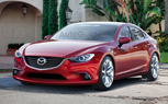 2014 Mazda6 Rendered into Reality
