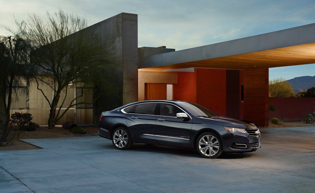 2014 Chevrolet Impala Features Automaker's New Safety Technologies