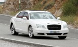 2014 Bentley Continental Flying Spur Spy Photos Show Exterior Updates