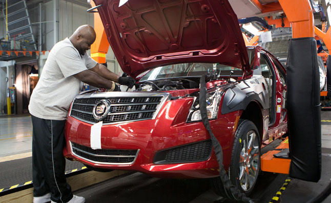 Cadillac ATS Begins Rolling Off Production Line