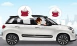 Fiat 500L Makes Espresso to go… While you Drive