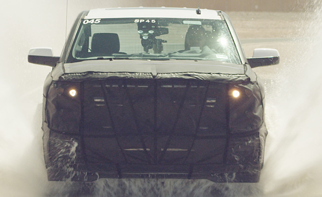 2014 Chevy Silverado Entering Final Stages of Testing-Video