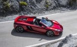 McLaren MP4-12C Spider Revealed With Retractable Hard Top
