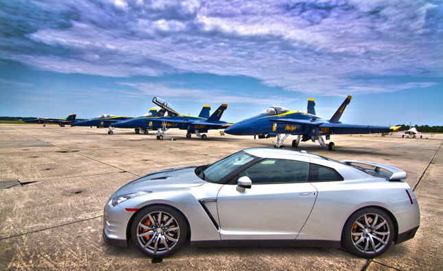 Nissan Taking Lessons From Blue Angels on Car Design