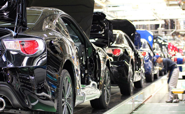 Auto Industry Hiring Rate up 32% Versus 2011