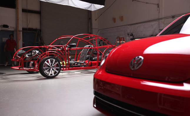 Volkswagen Builds Beetle Shaped Shark Cage for Shark Week