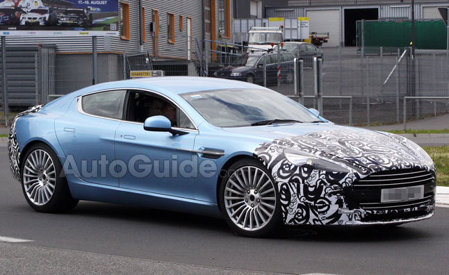 Aston Martin Rapide S Spy Photos