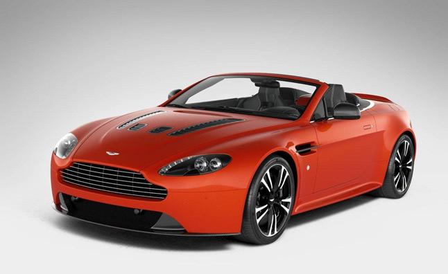 Aston Martin V12 Vantage Roadster Leaked Ahead of Unveiling