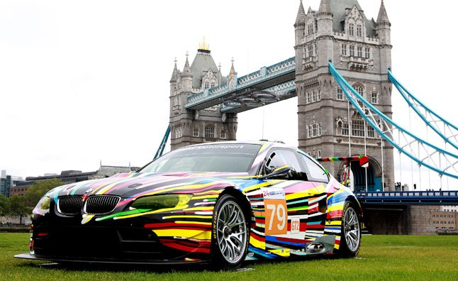 BMW Art Car Collection on Display in London