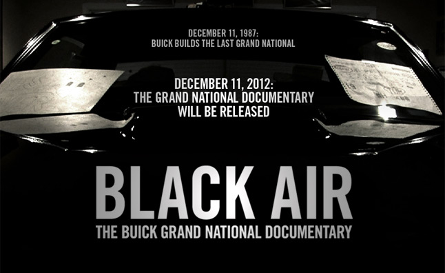 Buick Grand National Documentary Trailer Released – Video