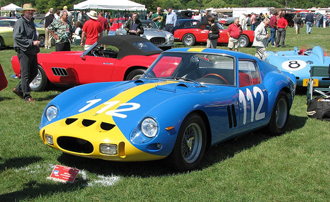 $30 Million Ferrari 250 GTO Crashes During Car's 50th Anniversary Celebration