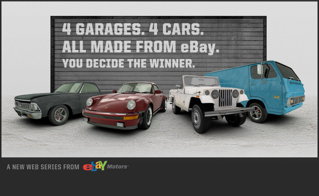 Four Tuner Shops to Compete in eBay BUILT Web Series
