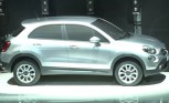 Fiat 500X Crossover Previewed at 500L Launch